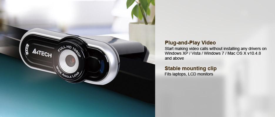 Webcam A4tech PK-920H 1080p Full-HD chuyên dùng cho hội nghị truyền hình