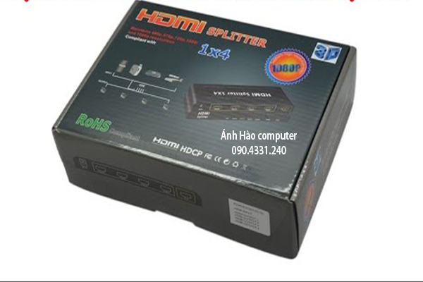 Bộ Chia HDMI 4 cổng loại thường giá rẻ