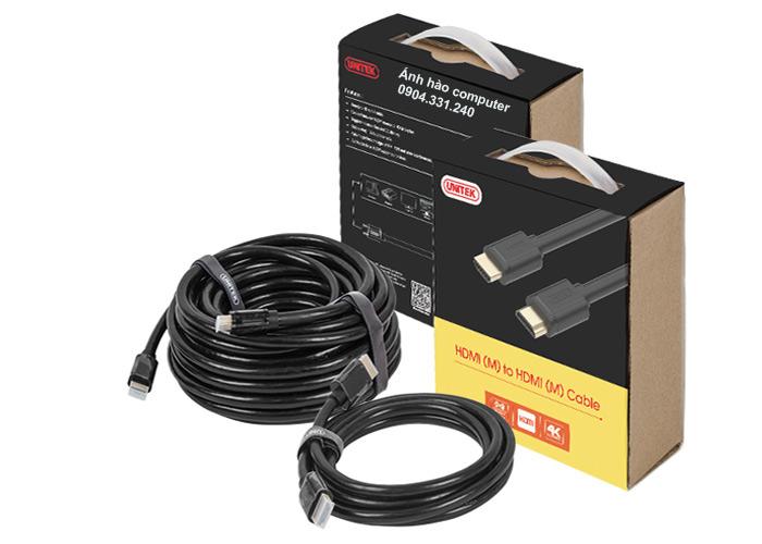 Cáp HDMI  Unitek dài 30M Y-C171 chính hãng