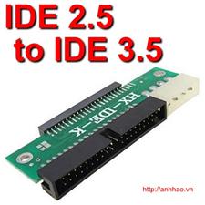 Đầu chuyển đổi từ IDE 3.5 Sang IDE 2.5