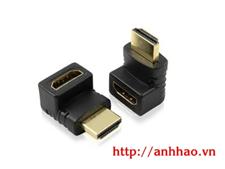 Đầu nối HDMI gấp 90 độ âm/dương